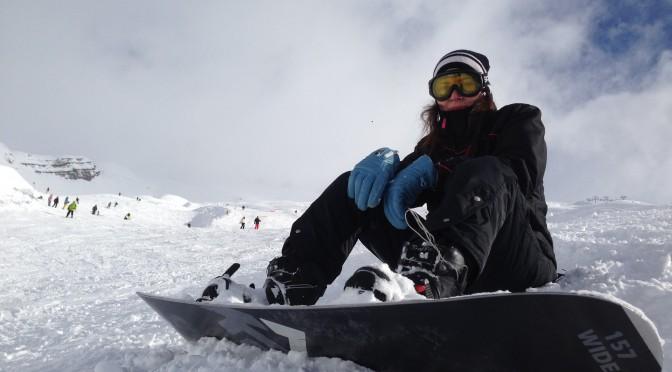 jo snowboarding