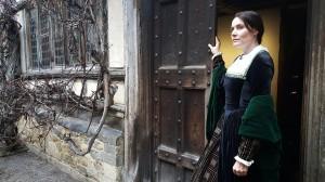 Jo filming Hever Castle