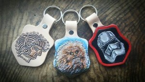 Xenajo Creations Keyring designs