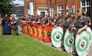 Boudicca and Ermine Street Guard