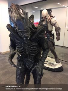 Jo Alien IGN offices01