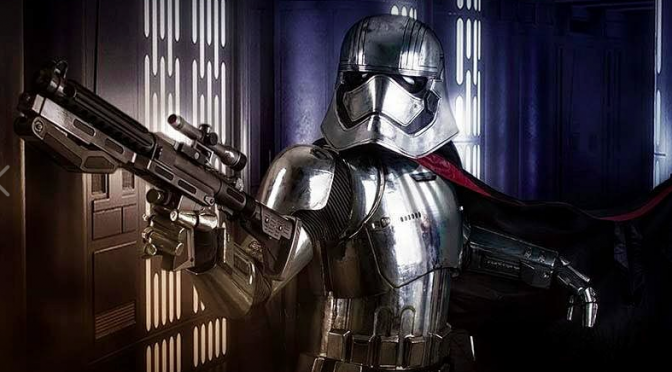 Jo as Captain Phasma